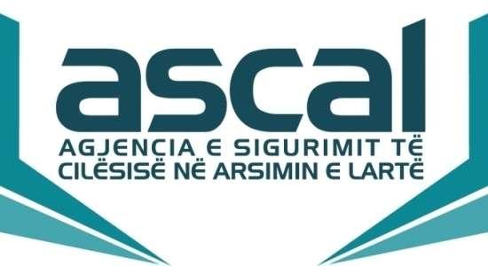 Njoftim për vend të lirë pune pranë ASCAL