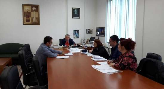 Visit in the framework of accreditation of study programs at the Agricultural University of Tirana