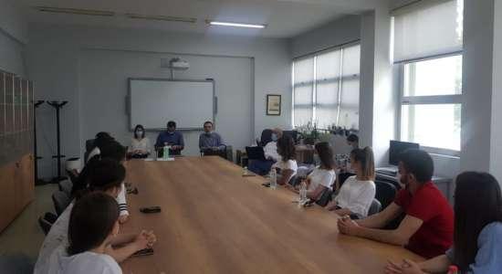 """Vizita në kuadër të ri-akreditimit institucional të Universitetit """"Ismail Qemali"""" Vlorë"""