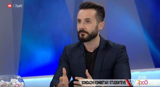 Drejtori i ASCAL jep intervistë në Vizion Plus mbi Sondazhin Kombëtar të Studentëve